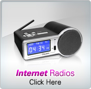 Aluratek Internet Radios
