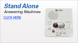 Stand Alone Answering Machines