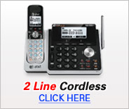 2 Line Cordless Phones