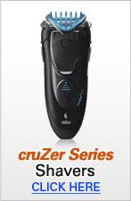 Braun cruZer Shaver Series