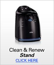 Braun Clean & Renew Stands