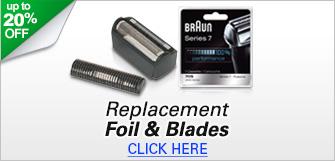 Braun Replacement Parts - Shaver Foils & Blades