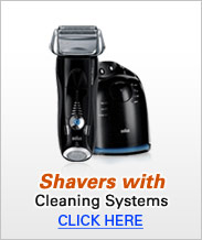 Braun Shavers with Cleaning System