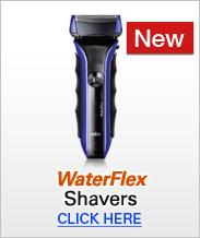 Braun WaterFlex Shavers
