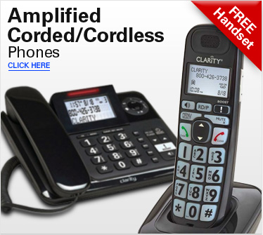 Amplified Corded/Cordless