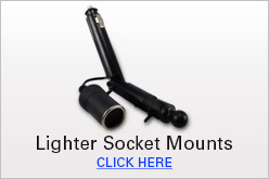 Lighter Socket Mounts