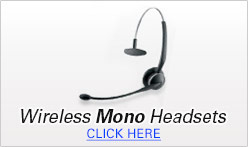 Wireless Mono Headsets