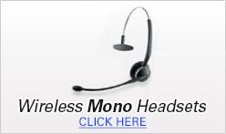 Wireless Mono Headsets