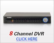 8 Channel DVR