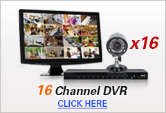 16 Channel DVR