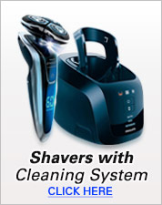Shavers with Cleaning