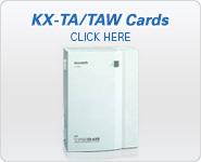 Panasonic BTS KX-TA/TAW Central Office Cards