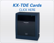 Panasonic BTS KX-TDE Station Cards