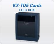 Panasonic BTS KX-TDE Station Cards