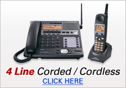 Four Line Corded and Cordless