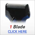 Mens Shavers 1 Blade