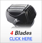 Mens Shavers 4 Blade
