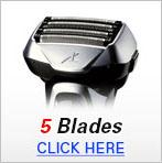 Mens Shavers 5 Blade