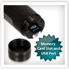 Spy Flashlight Camera w/ Memory Card