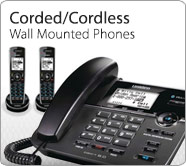 Corded Cordless Wall Phones