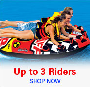 Up to 3 Riders