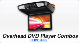Overhead DVD Player Combos