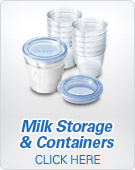 Avent Milk Storage Containers