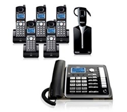 General Electric RCA DECT 6 Cordless Phones ge rca 25270re3plus4 25055re1