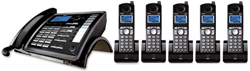 General Electric RCA DECT 6 Cordless Phones ge rca 25255re2plus4 25055re1