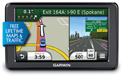 Top Ten GPS garmin nuvi2555lmt