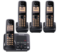 Panasonic DECT 6 Cordless Phones panasonic kx tg7624sk