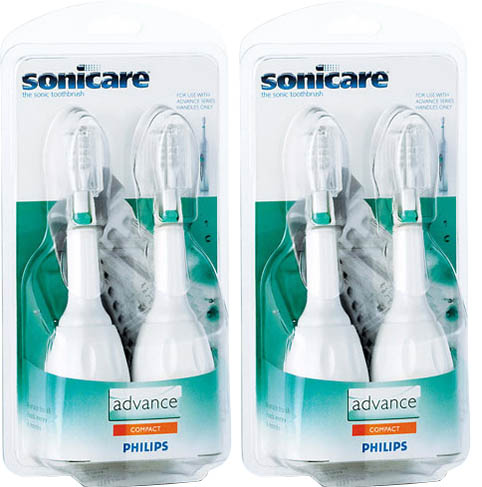 Philips Sonicare HX4014 Advance Compact Size 4 Replacement Brush Heads at Sears.com