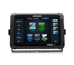 Lowrance HDS 12 Multifunction Fishfinder Chartplotters lowrance hds 12 gen2 touch insight with 50 200khz