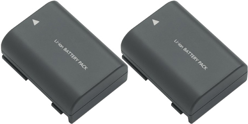 OEM New 2 Pack Replacement Battery For Canon FVM100KIT Camera Model at Sears.com