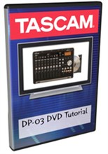 Tascam Recorder Accessories  tascam dp03dvd