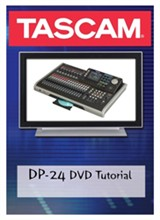 Tascam Recorder Accessories  tascam dp24dvd
